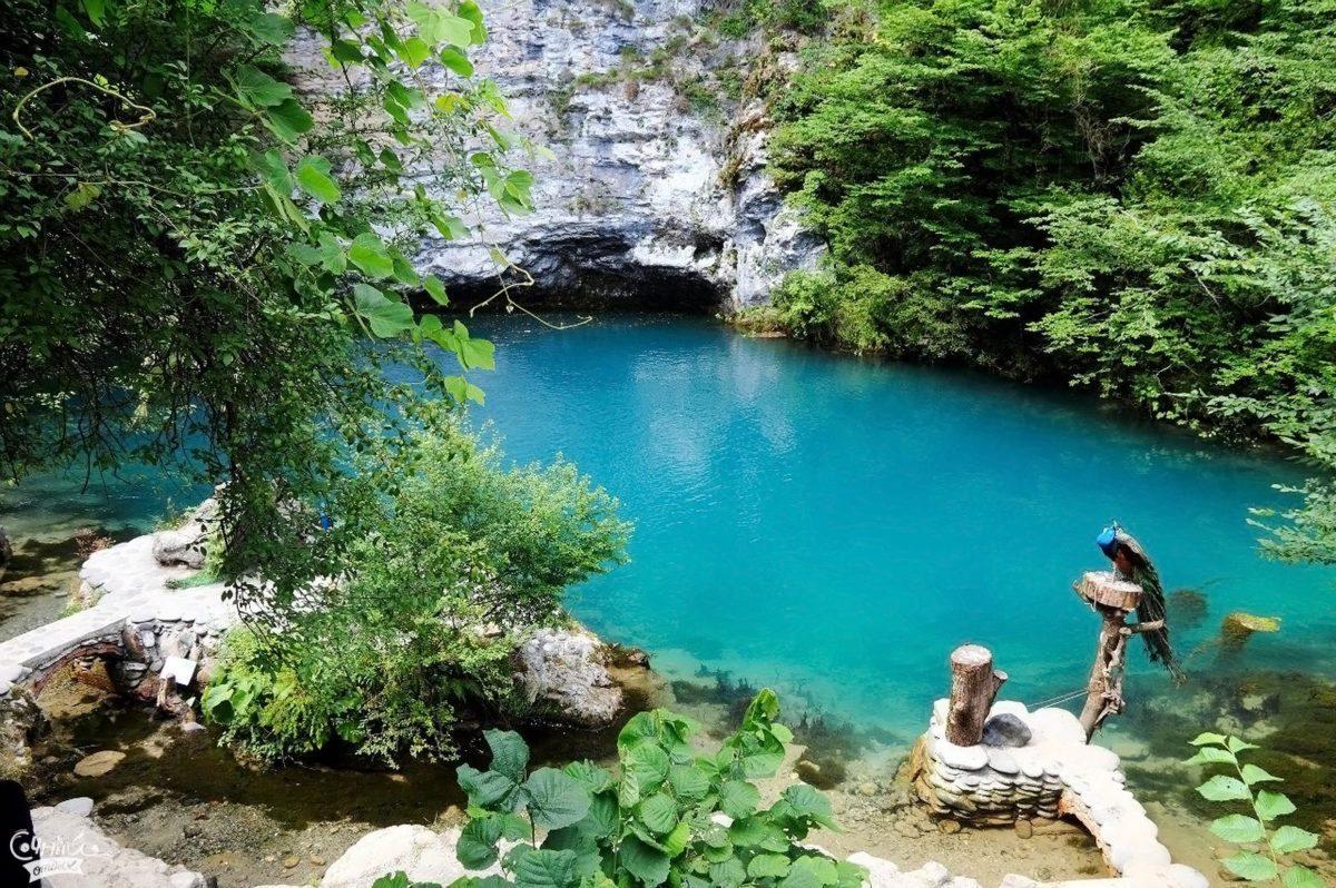 Голубое озеро - легенда Абхазии