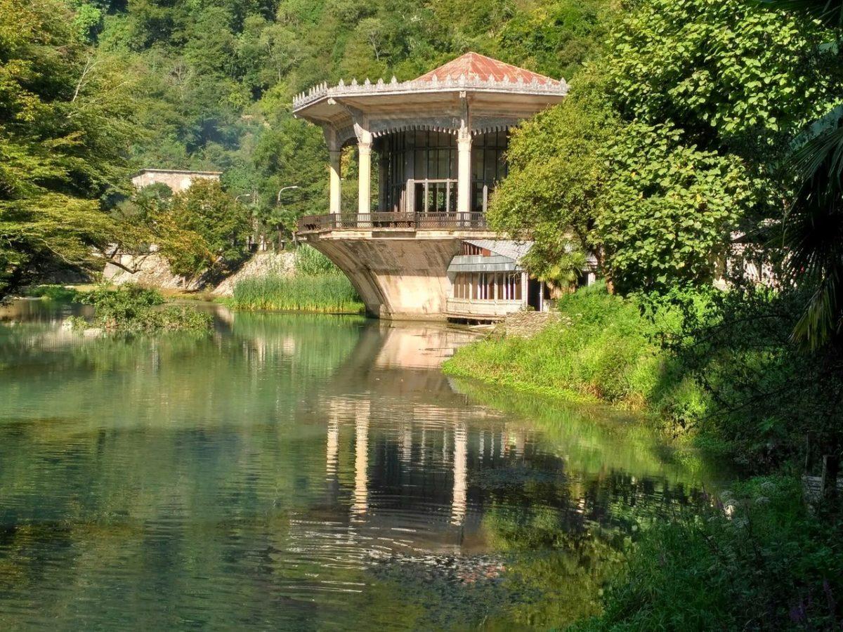 Новый Афон - жемчужина Абхазии