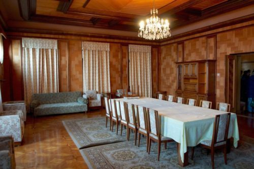 Дача Сталина бильярдный зал 2