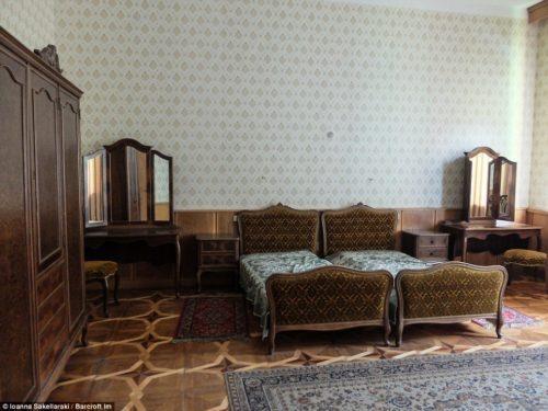 Дача Сталина спальня