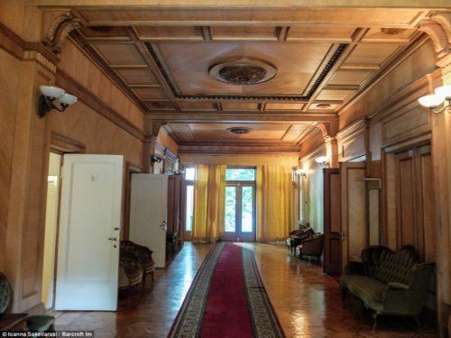 Дача Сталина коридор