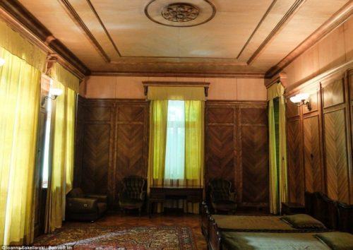 Дача Сталина бильярдный зал