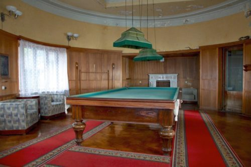 Дача Сталина бильярдный стол