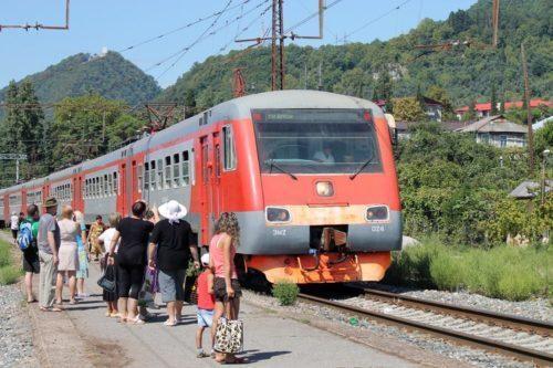 Поезд Москва - Сухум