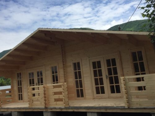 Эко-домики в Абхазии