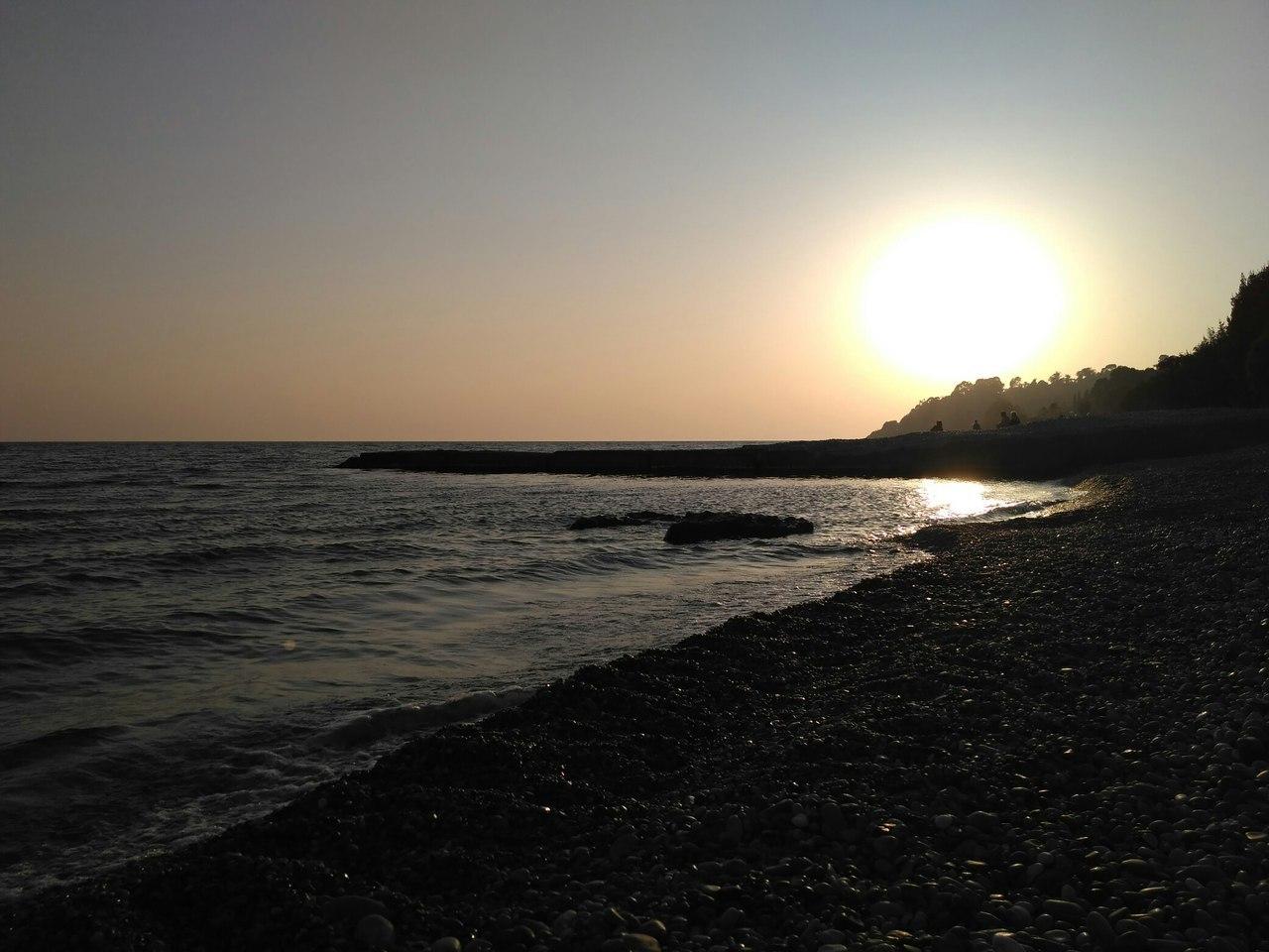 Отдых в селе Приморское 2020 - пляж