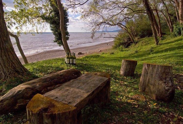 Пляж Нижняя Эшера