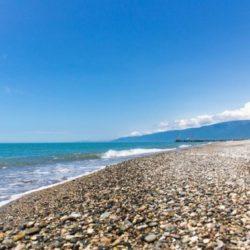 Вода в Абхазии в Июне